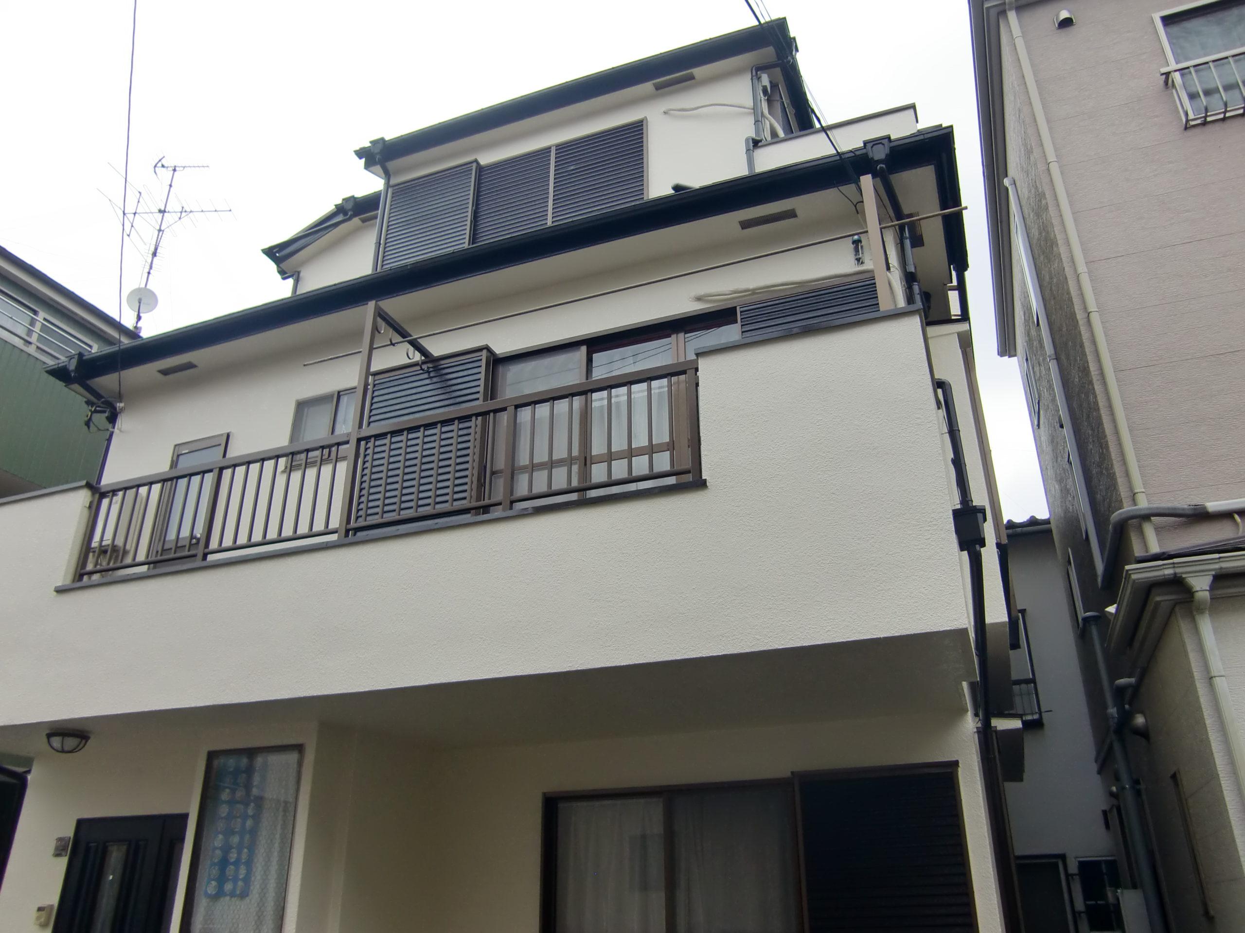 埼玉県 さいたま市 外壁塗装 屋根塗装 S様邸   ケイナスホーム 埼玉1