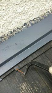 屋根 板金 くぎ錆
