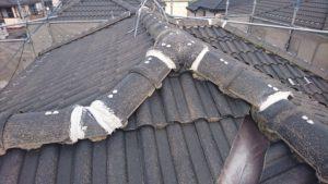 屋根 漆喰 補修