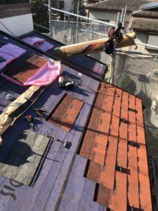 屋根カバー工法 防水紙