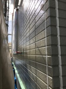 埼玉県 宮代町 外壁塗装 下塗り クリア