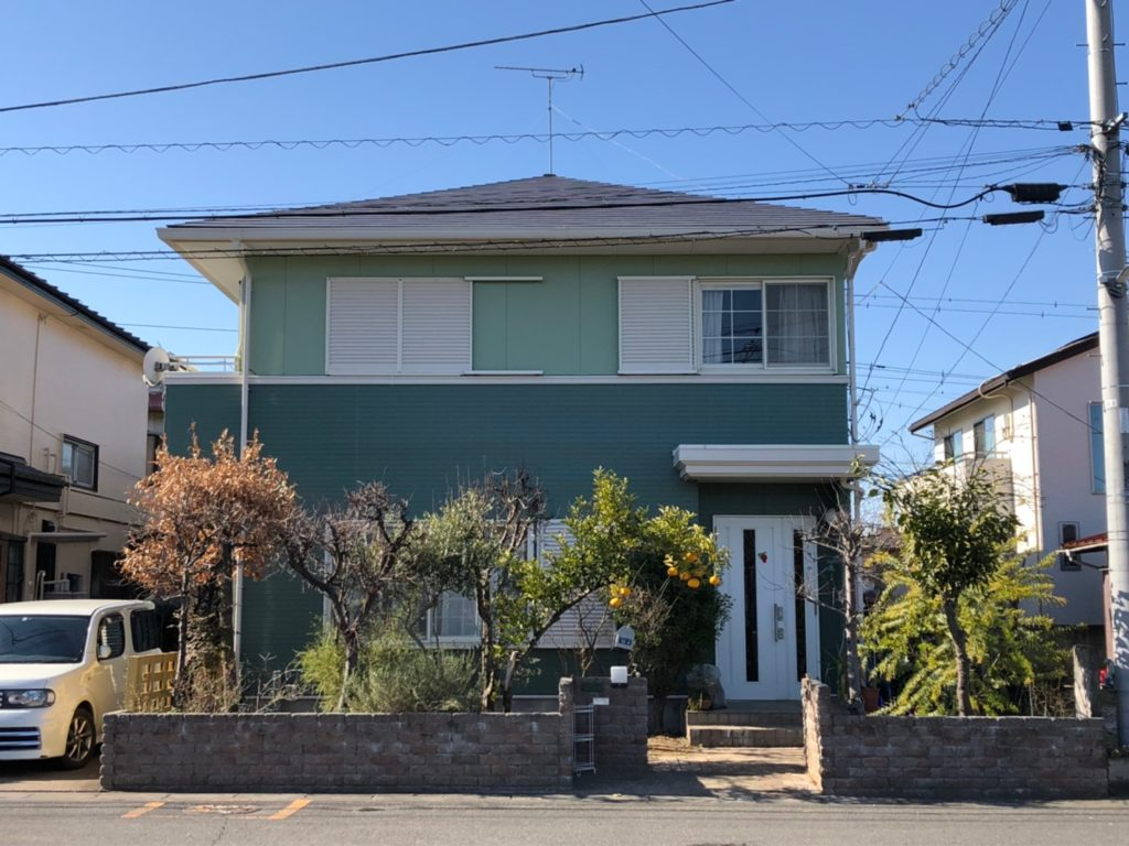 埼玉県 宮代町 屋根塗装 外壁塗装 塗装後 after