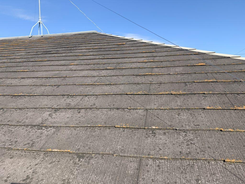 埼玉県 宮代町 屋根塗装 スレート屋根塗装 塗装前