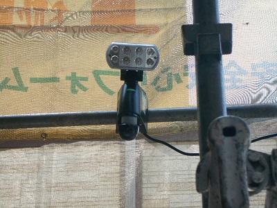 埼玉県 白岡市 屋根・外壁塗装工事『防犯足場』03