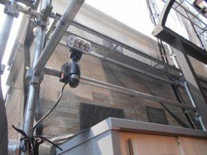 埼玉県 白岡市 屋根・外壁塗装工事『防犯足場』04