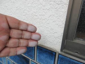 外壁 ヒビ 補修 モルタル 外壁塗装 埼玉県 蓮田市 伊奈町 久喜市 さいたま市 チョーキング