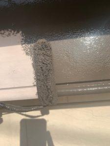 岩槻区外壁塗装 シャッターボックス