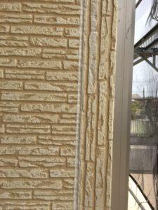 幸手市屋根外壁塗装 シーリング完了