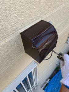 加須市屋根外壁塗装 換気フード塗装