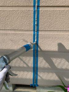 加須市屋根外壁塗装 目地シーリング充填