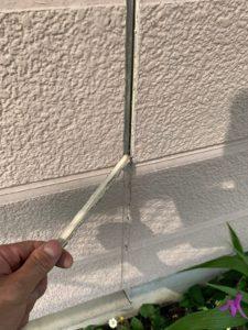 加須市屋根外壁塗装 目地撤去