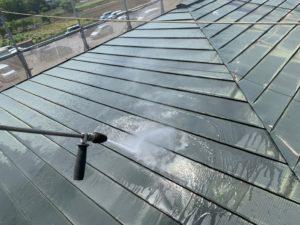 加須市屋根外壁塗装 屋根洗浄