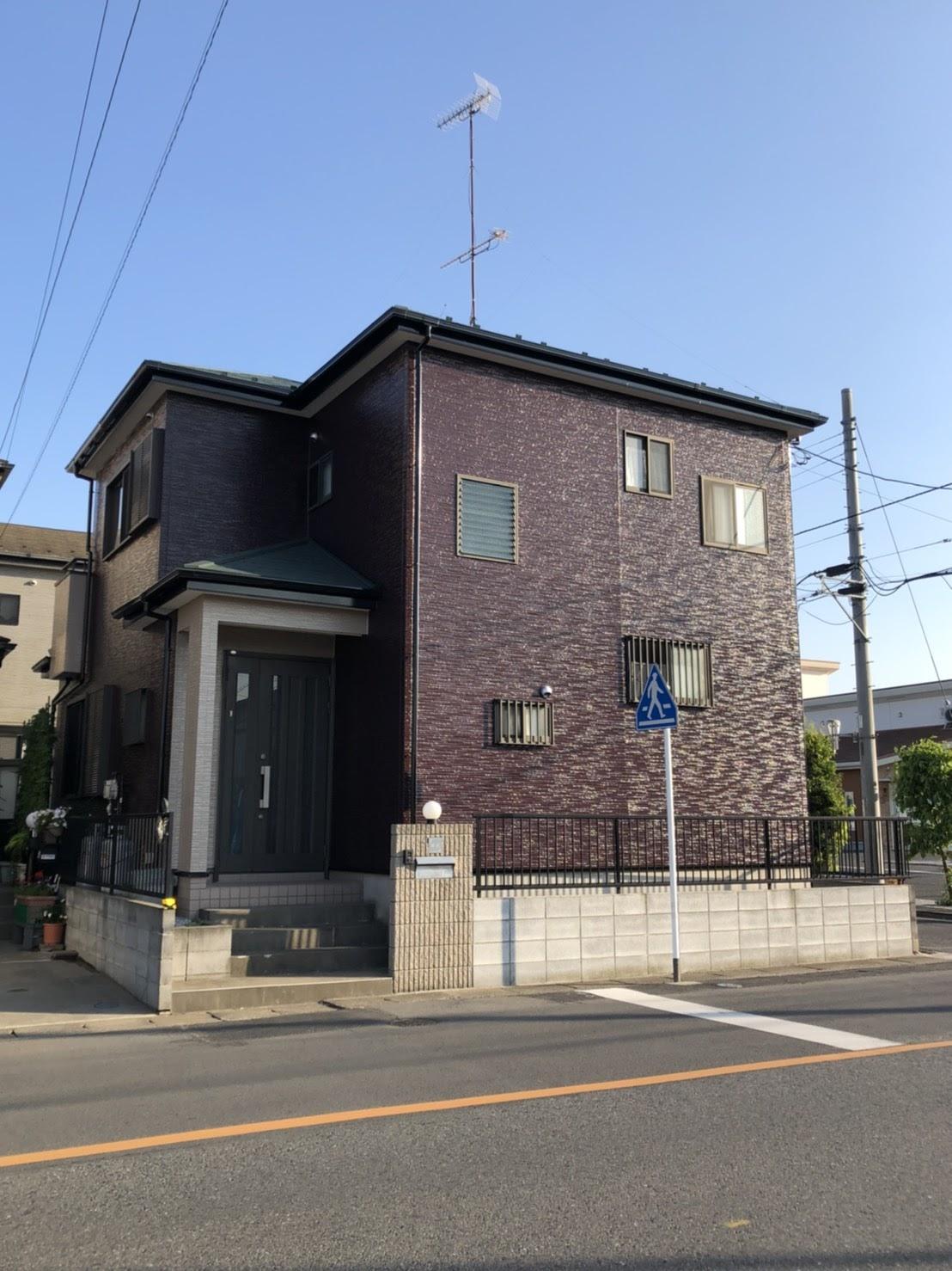 上尾市屋根外壁塗装 施工後1