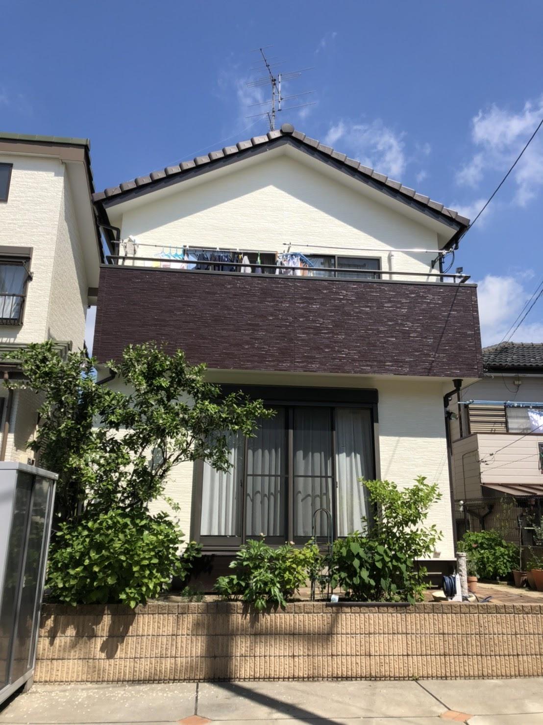 蓮田市外壁塗装T邸 施工後