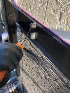 岩槻区T邸帯板塗装