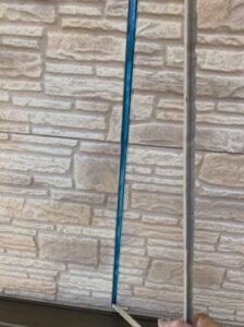 春日部市 外壁塗装 コーキングカット
