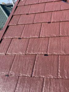 春日部市 屋根塗装 タスペーサー設置