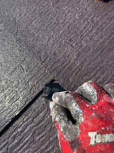 久喜市 屋根塗装 タスペーサー設置