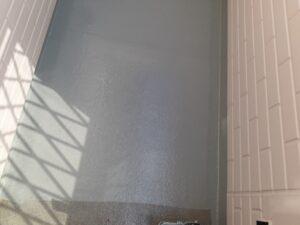 蓮田市 ベランダ防水塗装 トップコート