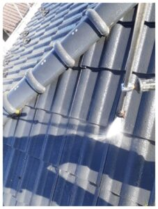 蓮田市 外壁塗装 バイオ高圧洗浄