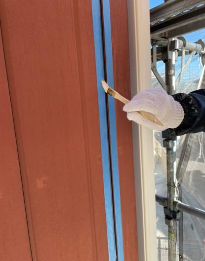 上尾市 外壁塗装 プライマー塗布