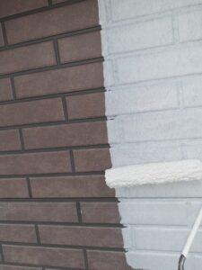 蓮田市 外壁塗装 下塗り