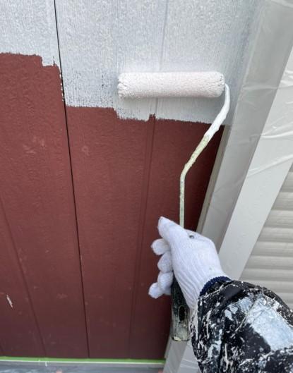 上尾市 外壁塗装 下塗り
