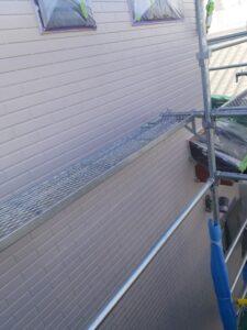 蓮田市 外壁塗装 中塗り