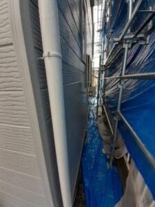 鴻巣市 雨樋塗装