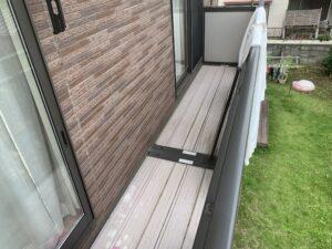 久喜市 外壁塗装 ベランダ劣化