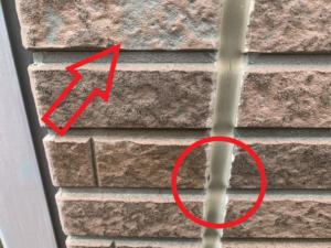 久喜市 外壁塗装 塗膜・コーキング劣化