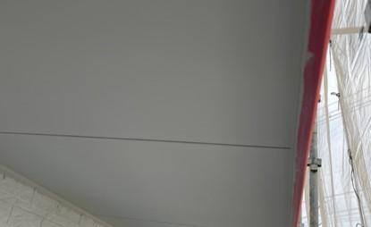 上尾市 軒天塗装