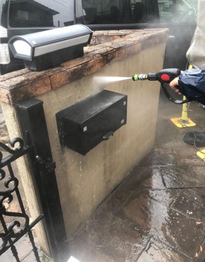 上尾市 外壁塗装 高圧洗浄