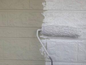 白岡市 外壁塗装 下塗り