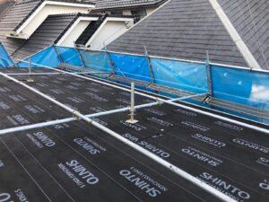 屋根カバー  スーパーガルテクト  防水シート  ルーフィング