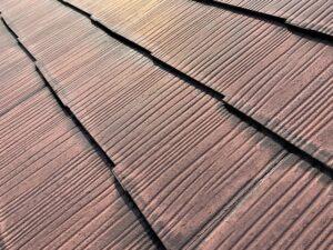 白岡市 屋根 塗膜の退色