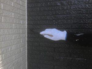 春日部市 外壁上塗り2