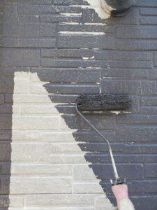 桶川市 外壁 中塗り