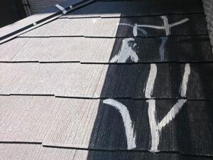 春日部市 屋根のひび割れ補修