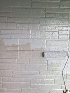 桶川市 外壁 上塗り