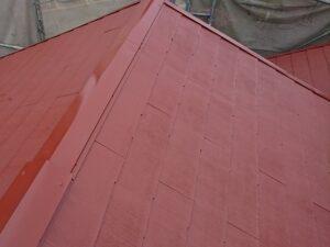 春日部市 屋根 中塗り