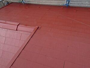 春日部市 屋根塗装完了