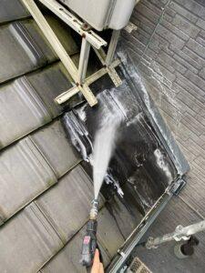 桶川市 屋根 バイオ洗浄 高圧洗浄